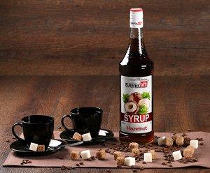 Сироп Лесной орех Баринофф, 1 л