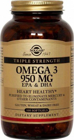БАД Омега-3, 950 мг