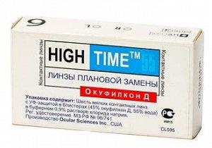 Дешевле закупки, Мягкие 1-мес контактные линзы HighTime 55 (Cooper Vision) (6 линз), -4, bc8.6