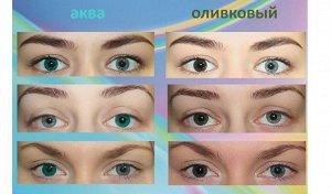 Квартальные оттеночные контактные линзы O2kSee Tone 55 (1 линза)