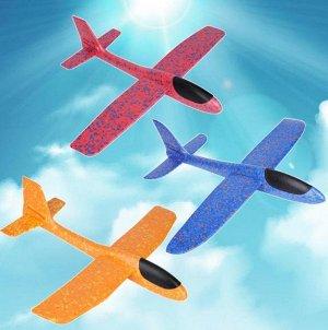 Самолет-аэроплан,светящийся