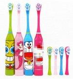 Детская электрическая зубная щетка цвет: КИТТИ
