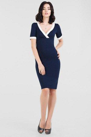 Платье 1088.2 темно-синее