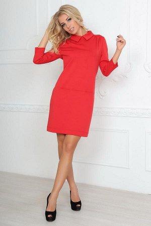 Платье 2494.47 красное