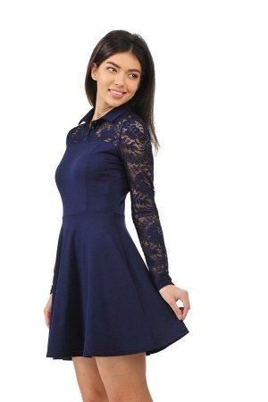Платье 2285.41 синее