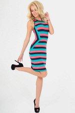 Платье 2056-1.17 мультиколор
