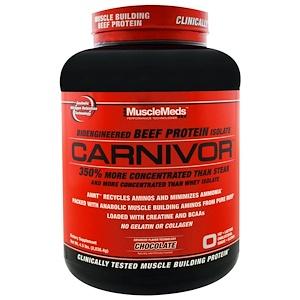 MuscleMeds, Carnivor,  изолят говяжьего протеина 2,038 кг
