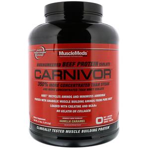 MuscleMeds, Carnivor,  изолят говяжьего протеина 1,915 кг
