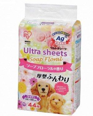 Толстые впитывающие пеленки с цветочным запахом (44 см*59 см 44 шт)