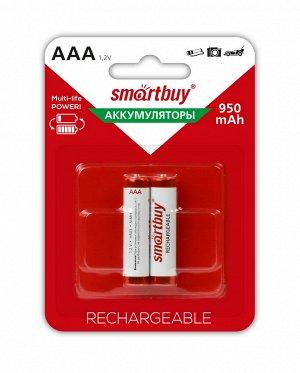 Аккумулятор NiMh AAA/2BL 950 mAh (24/240) (SBBR-3A02BL950)