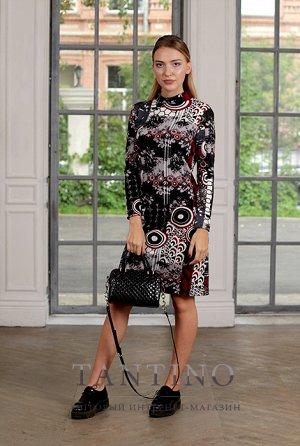 платье шерстяной трикотаж мягкое и теплое