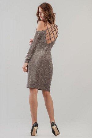 Платье 2625.98 бордовое