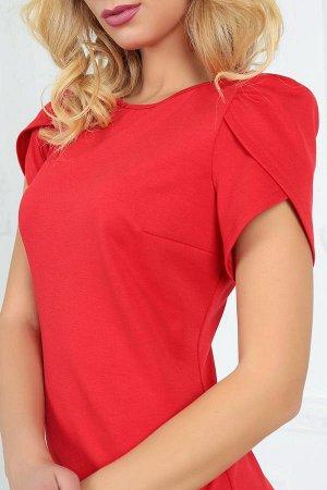Платье 2504.47 красное