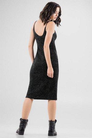 Платье 2647.98 черное