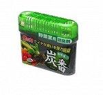 KOKUBO Дезодорант-поглотитель неприятных запахов, с древесным углем, для холод.(овощная кам.)