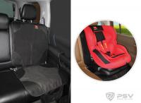 Защитная накидка Little Car под детское автокресло 120х50 см. черный