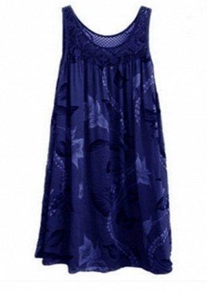 Платье цвет: СИНИЙ