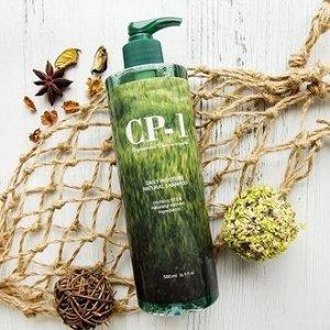 [ESTHETIC HOUSE] Натуральный увлажняющий шампунь д/волос CP-1 Daily Moisture Natural Shampoo, 500 мл