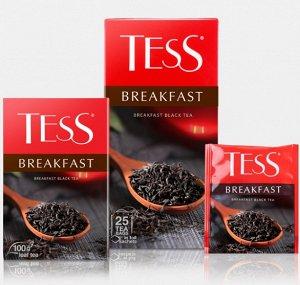Чай Tess Breakfast tea 1,8г х 25 пакетиков