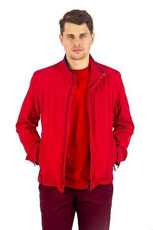 Куртка лето красная