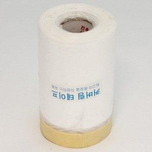 """Лента малярная """"Корея"""" с полиэтилен. пленкой 650mm -18м"""