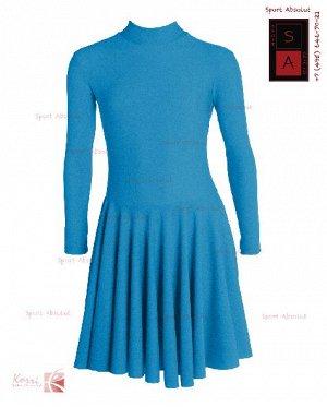 Рейтинговое платье Р 21-011 ПА синий