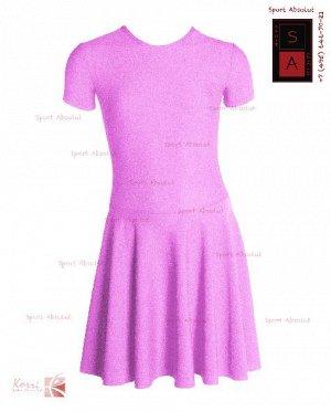 Рейтинговое платье Р 30-011 ПА нежно-фиолетовый