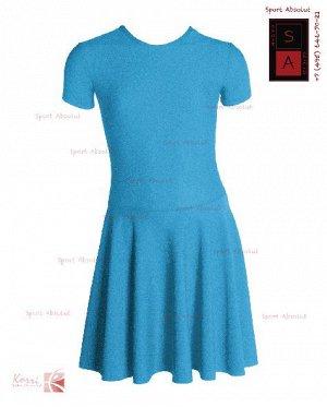 Рейтинговое платье Р 30-011 ПА синий