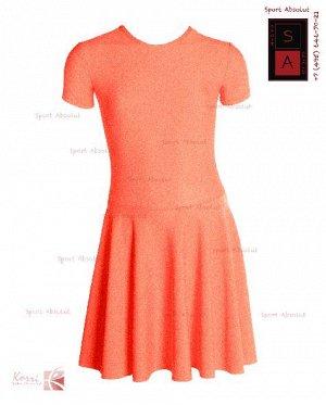 Рейтинговое платье Р 30-011 ПА рыжий