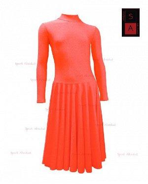 Рейтинговое платье Р 41-011 ПА гранатовый