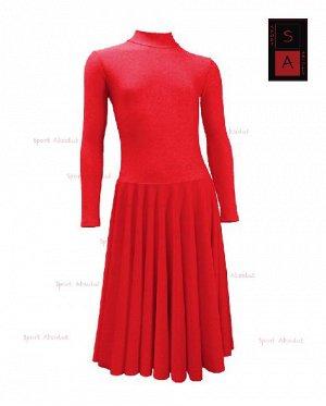 Рейтинговое платье Р 41-011 ПА ярко-красный