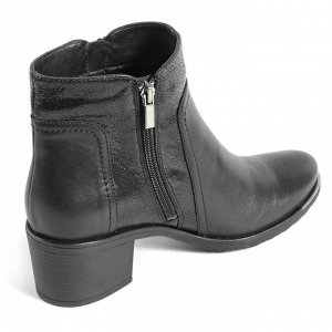 Ботинки демисезонные женские, черный