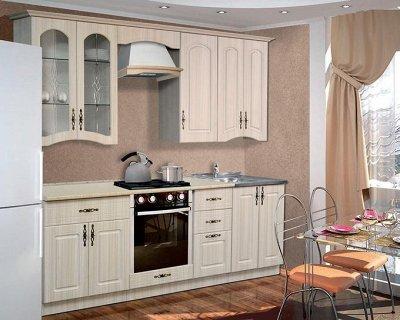Марибель - 35  Мебель в Рассрочку  — Кухня модульная с фасадами Венеция Матовый — Гарнитуры
