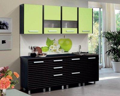 Марибель - 35  Мебель в Рассрочку  — Кухня модульная с фасадами Вива Матовый — Гарнитуры