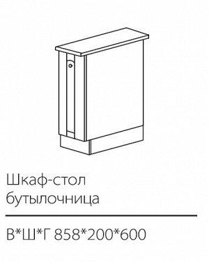 ШСК бутылочница 858*200*600 мм