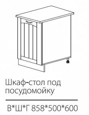 ШСК для посудомоечной машины 858*500*600 мм