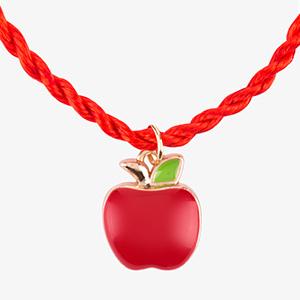 """Браслет с подвеской №06 """"Райское яблоко"""""""