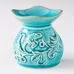 """Аромалампа """"Бирюза"""", керамика, 8х8 см"""