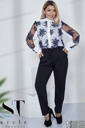 Красивые брюки из тонкой ткани!