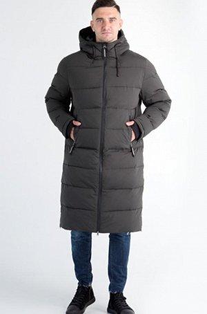 Удлиненное  пальто зима