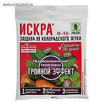 Искра Тройной Эффект от колорадского жука  (пак 10,6 гр) -  50 шт/кор