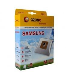 OZONE micron M-03 синтетические пылесборники 5 шт. (Samsung VP-77 )