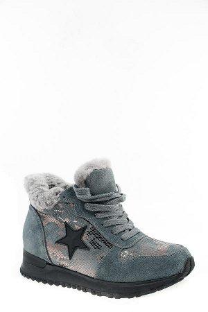 Зимние кроссовки натуральная замша и мех!