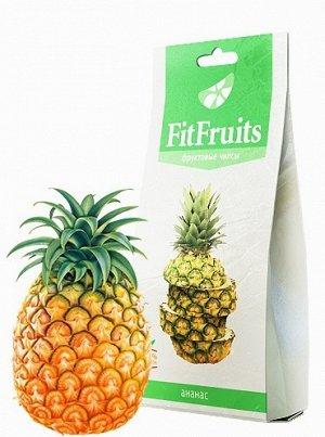 Фруктовые чипсы fitfruits ананас 20 г