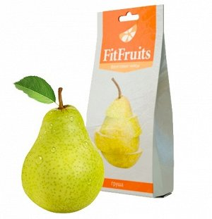 Фруктовые чипсы fitfruits груша 20 г