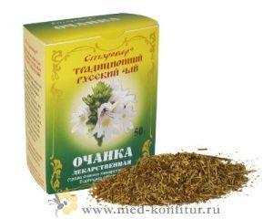 Чай Русский цвет Очанка лекарственная
