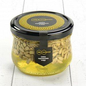 Семена подсолнечника в меду