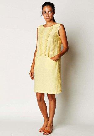 Льняное женское платье (СКИДКА)