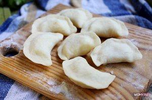 Домашние Вареники с картошкой+грибы, 0,5кг