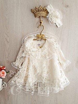 Платье Кружевное на запах Ободок 466-ПО